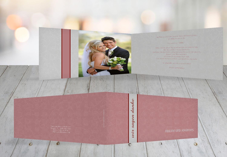 Kartenparadies Danksagung für Hochzeitsgeschenke Dankeskarte Für immer, hochwertige Danksagungskarte Hochzeitsglückwünsche inklusive Umschläge   20 Karten - (Format  215x105 mm) Farbe  MatschgruenDunkel B01N6THOUH   Fierce Kaufen