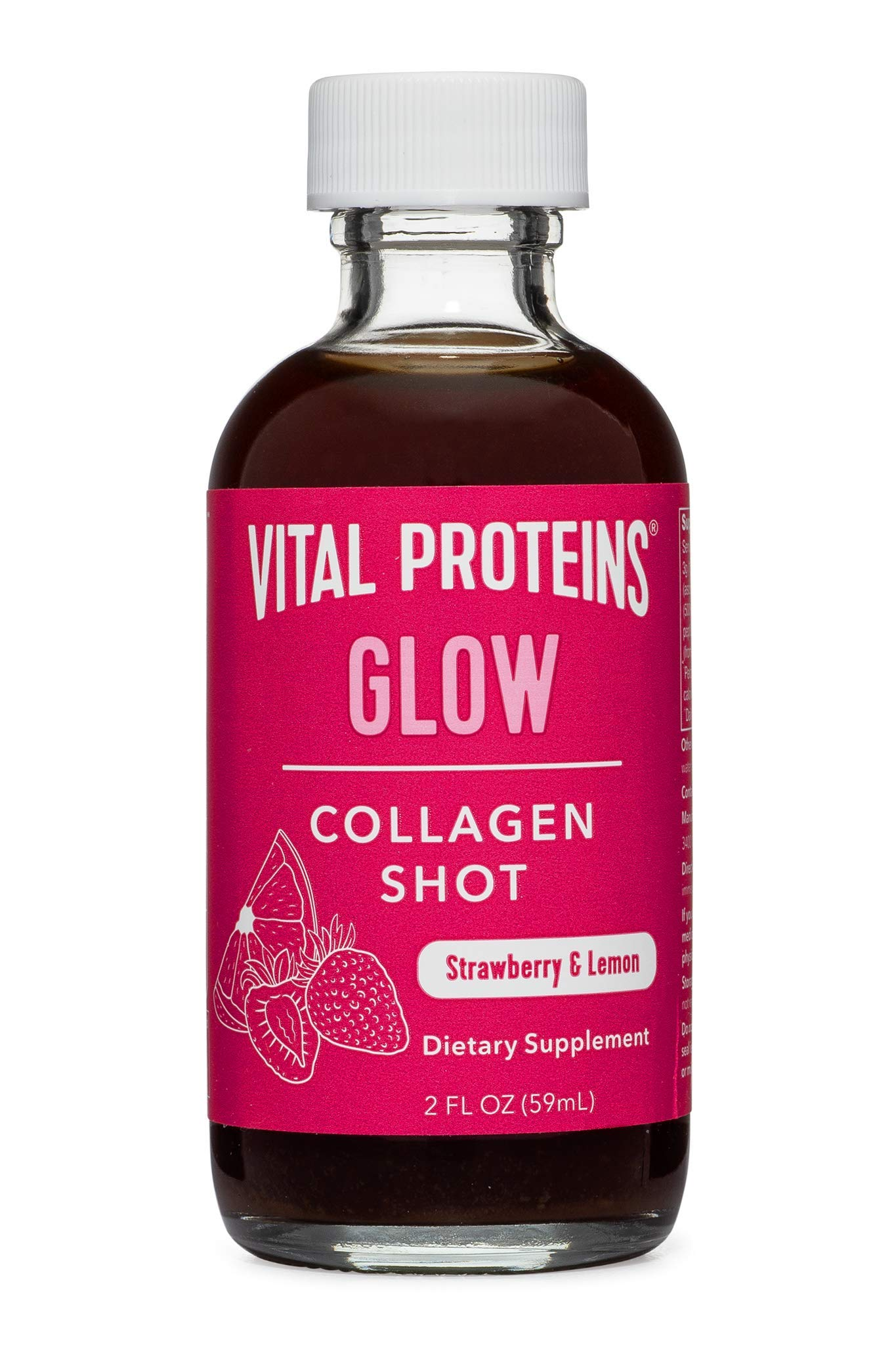Vital Proteins Collagen Shot - Glow - 12 ct - Hyaluronic Acid, Biotin, and Vitamin C by Vital Proteins (Image #2)