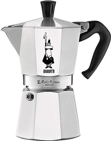 Amazon.com: Bialetti 06857 Moka Express StoveTop Cafetera de ...