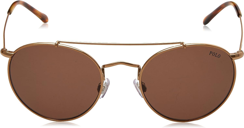 Ralph Lauren POLO 0PH3114 Gafas de sol, Dark Rose Gold, 51 para ...