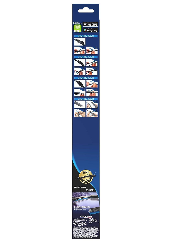 Silencio VM252 - Escobilla limpiaparabrisas trasera plana para Fabia/Octavia/Touran: Amazon.es: Coche y moto