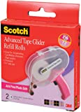 Scotch 085-RAF 1/4-Inch by 36-Yard Acid Free ATG Advanced Tape Glider Refill Rolls, 2 Rolls per Box