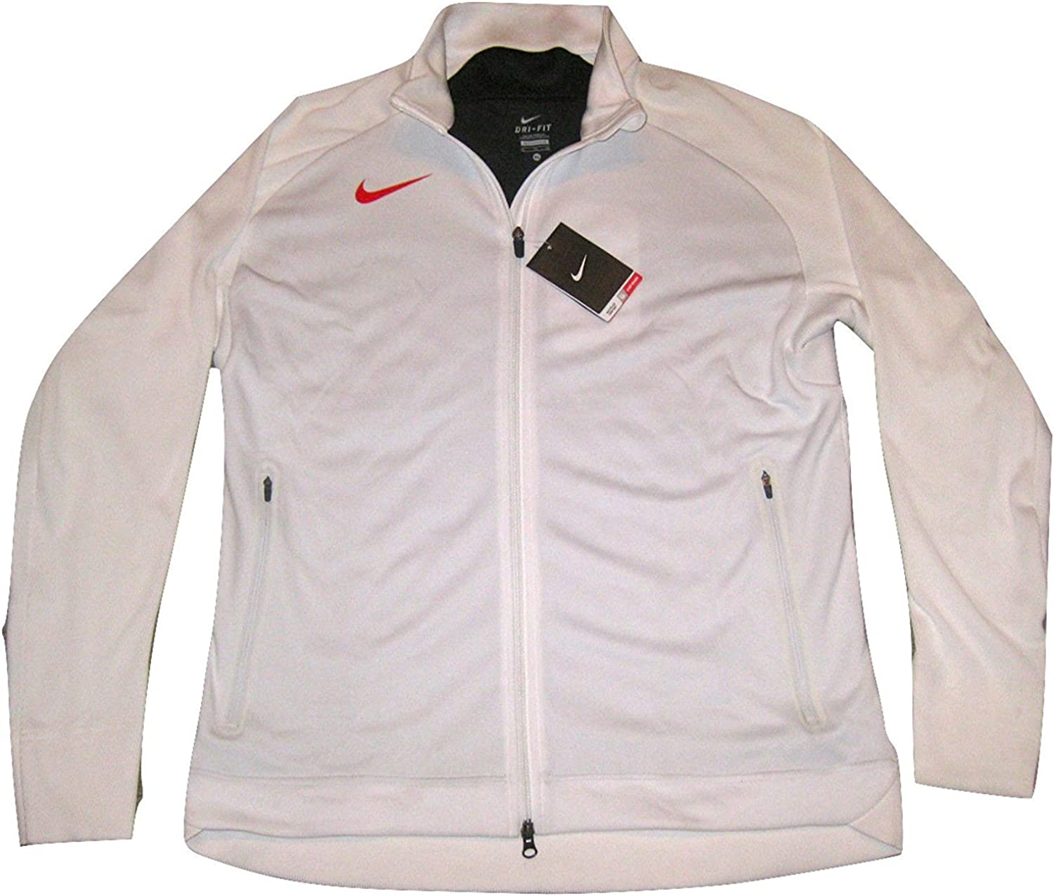 Nike N12 Country Japan Mens Track Jacket 466404 Olympics Rio White RED Flag