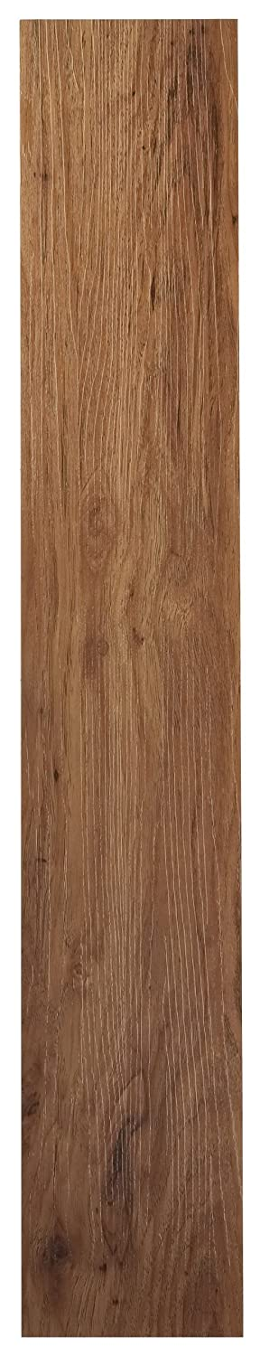 Achim Home Furnishings VFP2.0MO10 Tivoli II Vinyl Floor Planks, Medium Oak, 3-Foot by 6-Inch, 10-Pack