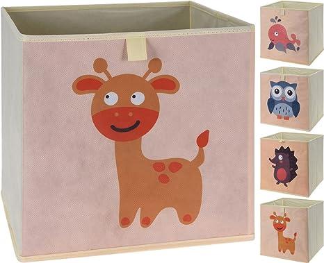 Caja Plegable con forma de animales, Juego de 4: Amazon.es: Bebé