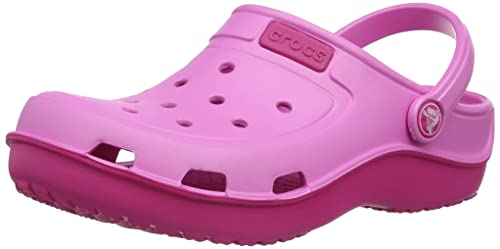 6bf09ca978361 crocs Kids Unisex Duet Wave Clogs  Buy Online at Low Prices in India -  Amazon.in