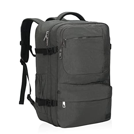 931efb43639 Hynes Eagle 44L Carry on Backpack Flight Approved Compression Travel Pack  Cabin Bag  Amazon.ca  Luggage   Bags