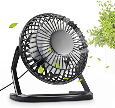 UBEGOOD Mini Ventilador USB, Portátil 360°Giratorio Mini Fan ...
