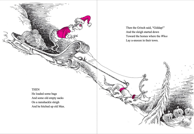 How the Grinch Stole Christmas! (Dr. Seuss): Amazon.es: Dr. Seuss ...