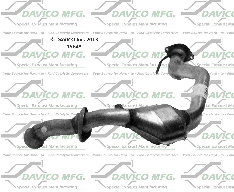 Davico 665654 CARB Catalytic Converter