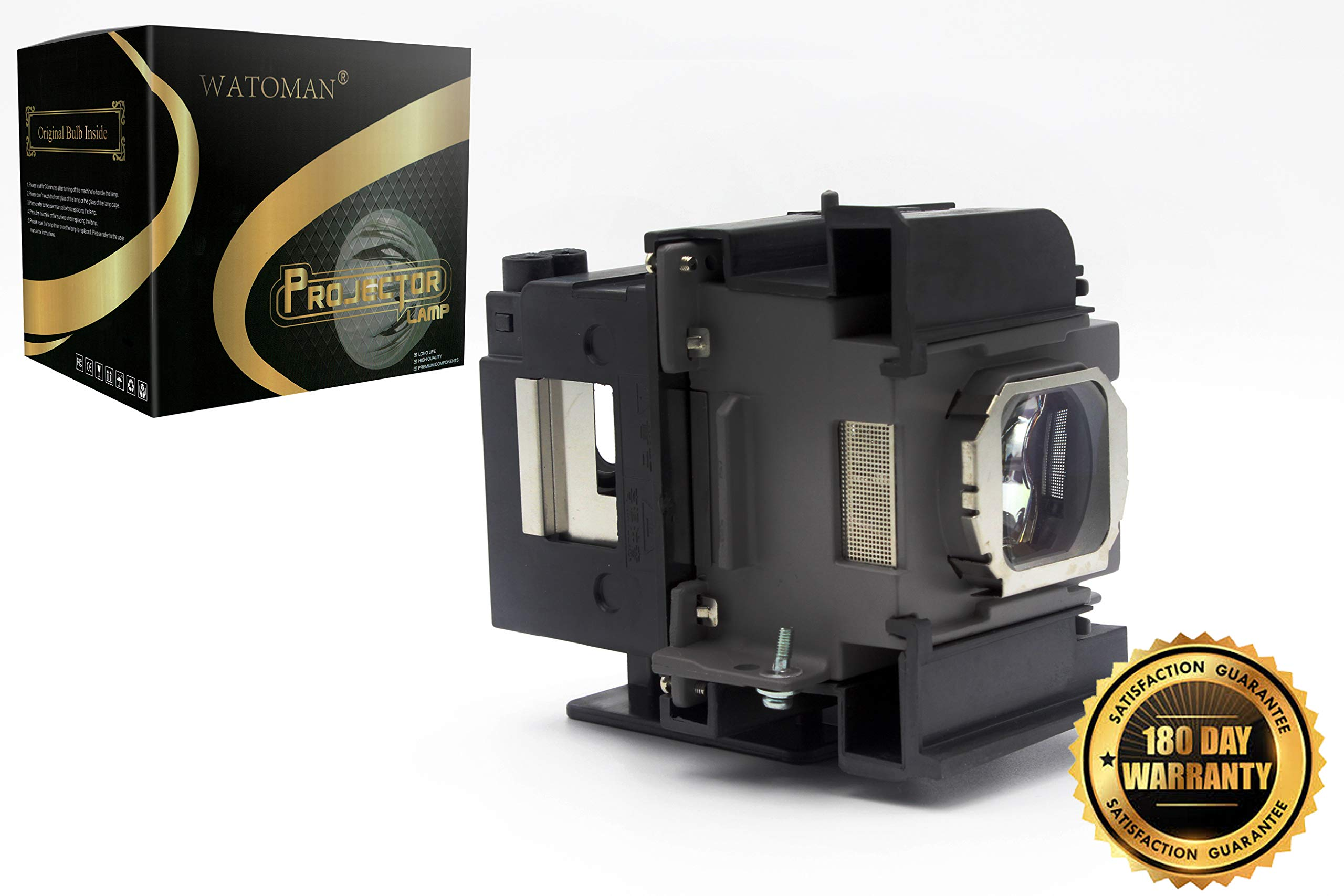 ET-LAA110 Assembly Original Replacement Projector Lamp with Housing for Panasonic PT-AH100 PT-AH100U PT-AH1000E PT-AR100 PT-AR100U PT-LZ370E Projectors by Watoman by WATOMAN