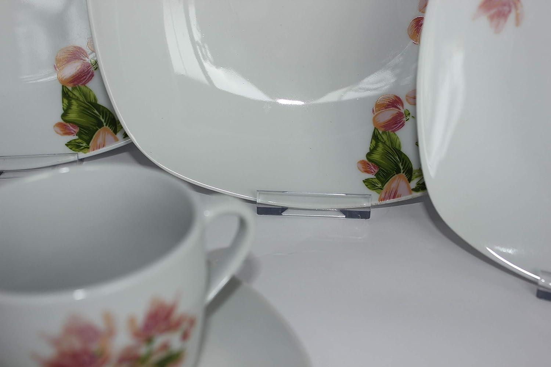 Service de Table en Porcelaine Ebba TK-1013 pour 6 Personnes 30-TLG Topkapi Premier Prix