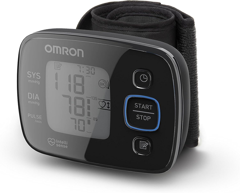 OMRON MIT Precision 5 - Tensiómetro de muñeca, diseño compacto, indicador del pulso arrítmico