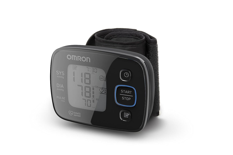 Omron HG5 Precision - Tensiómetro de muñeca eléctrico, color negro: Amazon.es: Salud y cuidado personal