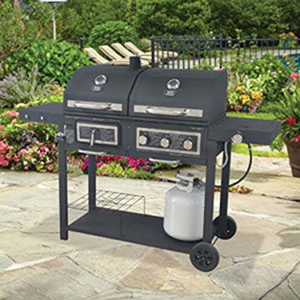 Backyard Grill Gas/Charcoal Grill - Amazon.com : Backyard Grill Gas/Charcoal Grill : Garden & Outdoor