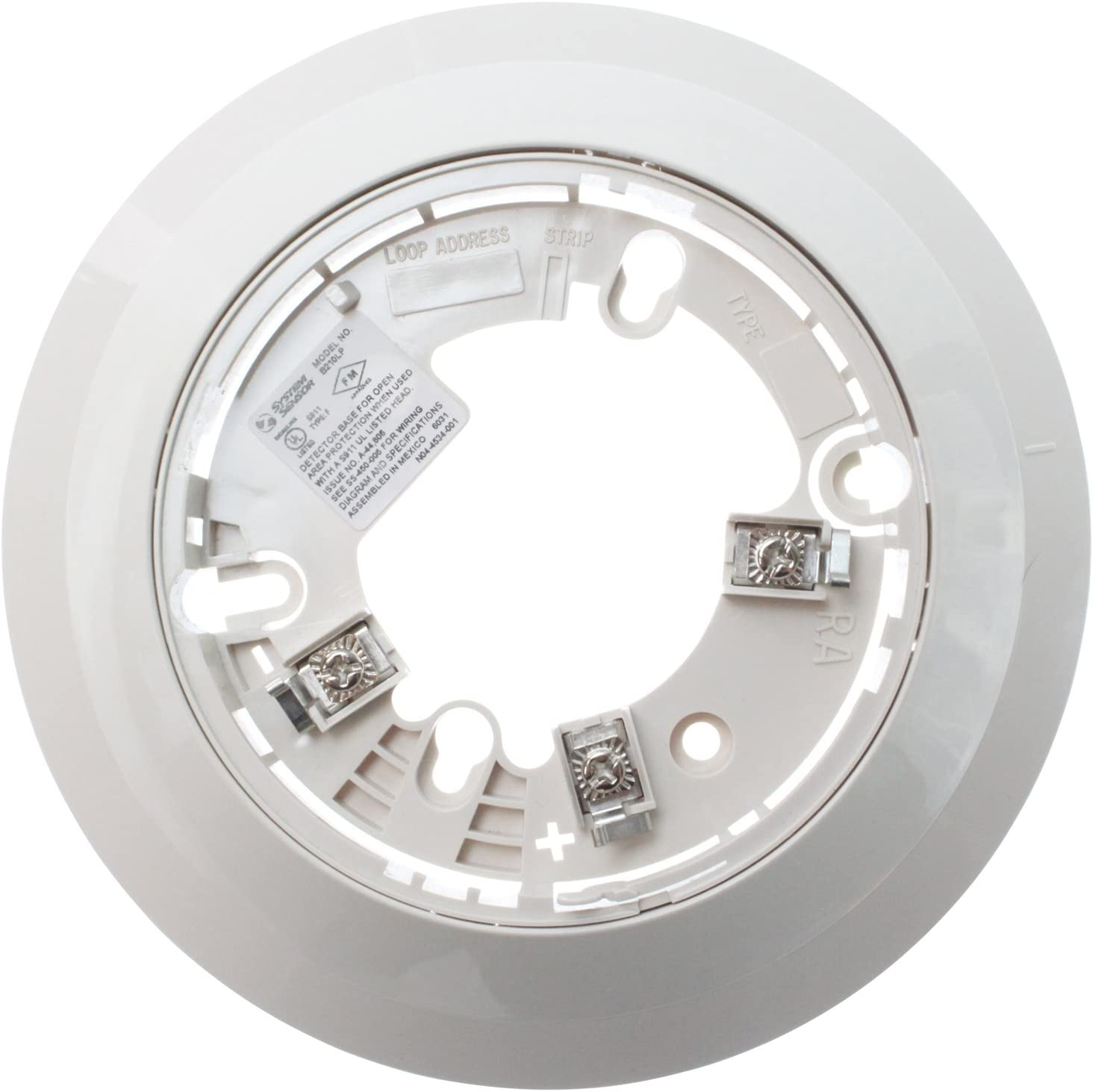 Fire Lite B210lp Ivory 6 1in Standard 200 Series Plug In