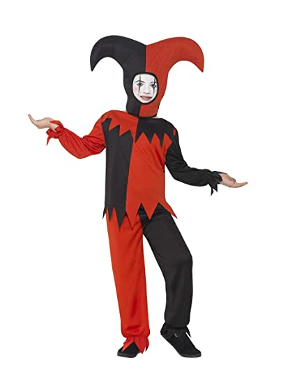 Smiffy s Hombres de Halloween disfraz de bufón trenzado ...