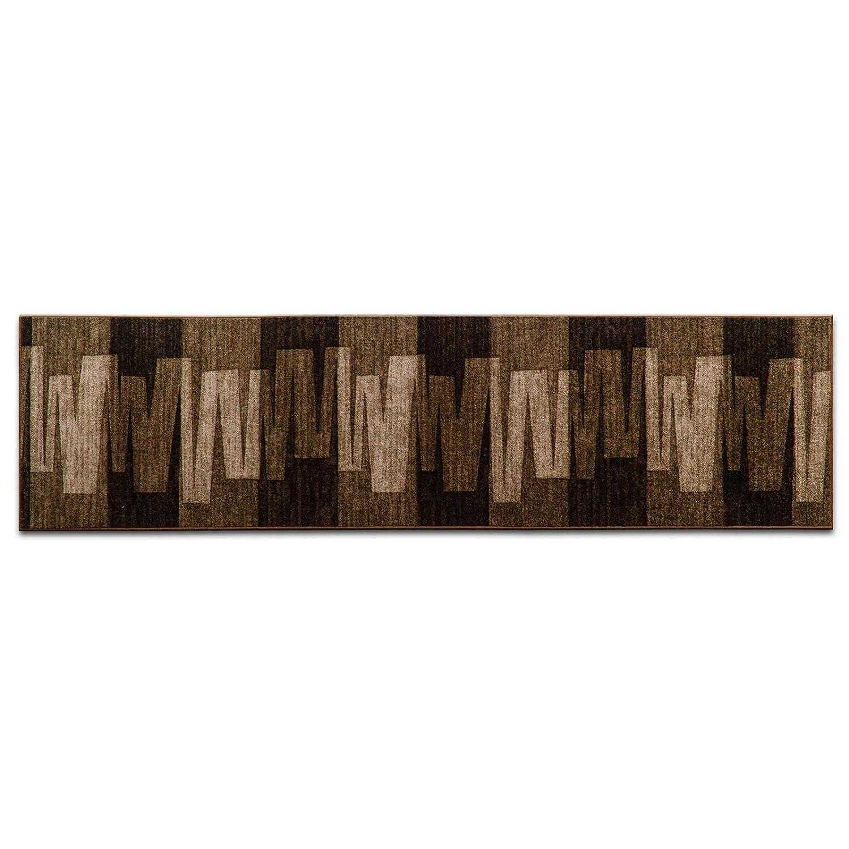 Stufenmatten mit Pinselstrich Muster   Braun     Qualitätsprodukt aus Deutschland   GUT Siegel   kombinierbar mit Läufer   65x23,5 cm   halbrund   15er Set B016OHK5WK Stufenmatten 3fa6e7