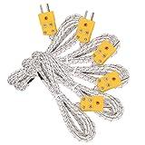 5pcs 3M K Type Mini-Connector Thermocouple