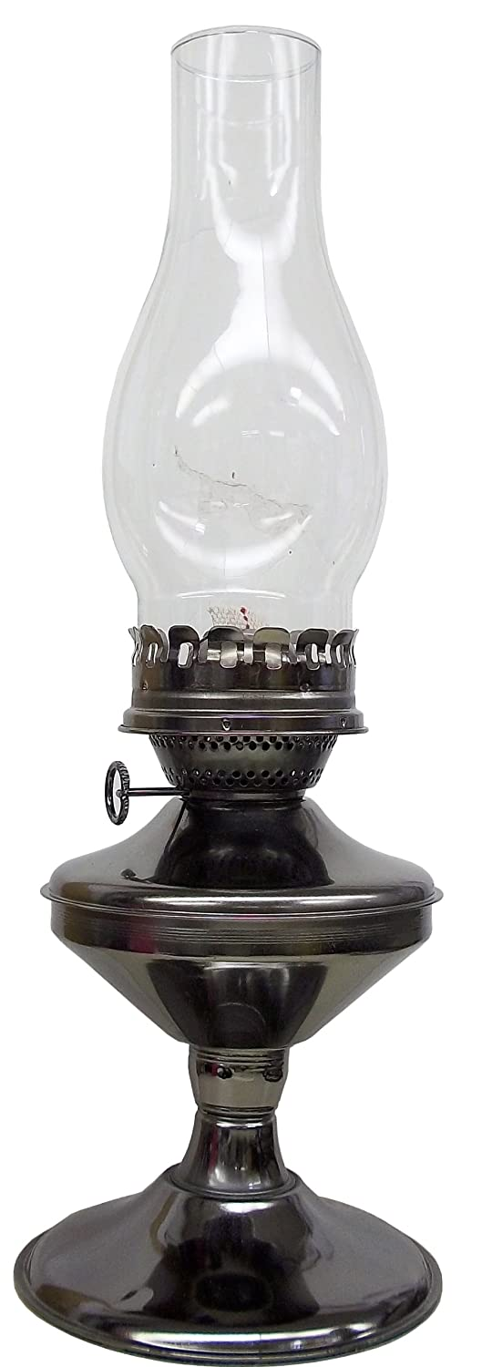 V& O 910-99900 17-Inch Pewter Solid Oil Lamp