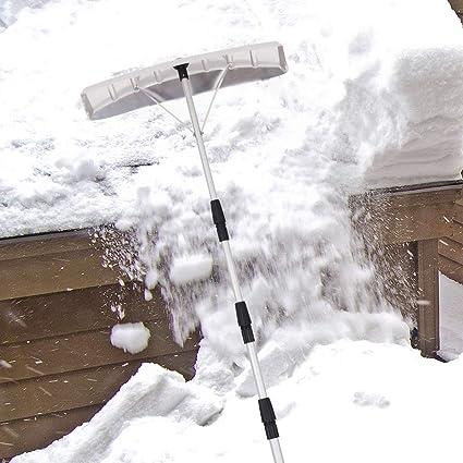 Amazon.com: Goplus Rastrillo para nieve de techo, de 20 pies ...