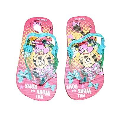 a30839600b3 Minnie Tong avec Elastique à l arrière Fille  Amazon.fr  Chaussures ...