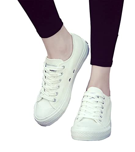 8002e6385ce3 NEW New white canvas shoes female spring and summer white shoes women  casual shoes students sneakers