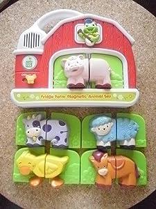 Leap Frog Fridge Farm Magnetic Animal Set