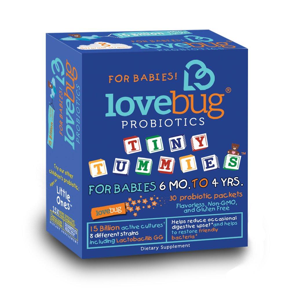 Lovebug Probiotics Tiny Tummies - Probiotic For Babies 6 Months To 4 Years. .. 10