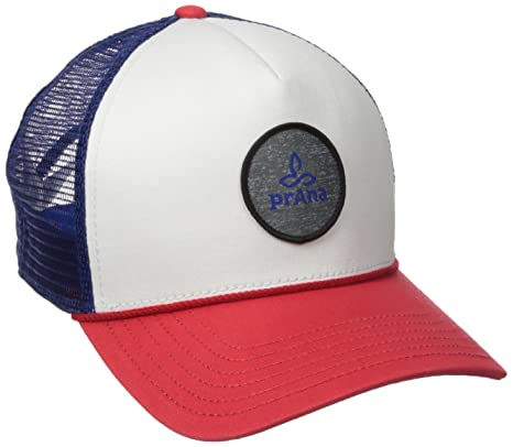 b1bdc4355e4efd Amazon.com: prAna Patch Trucker, Red White Blue, One Size: Sports ...
