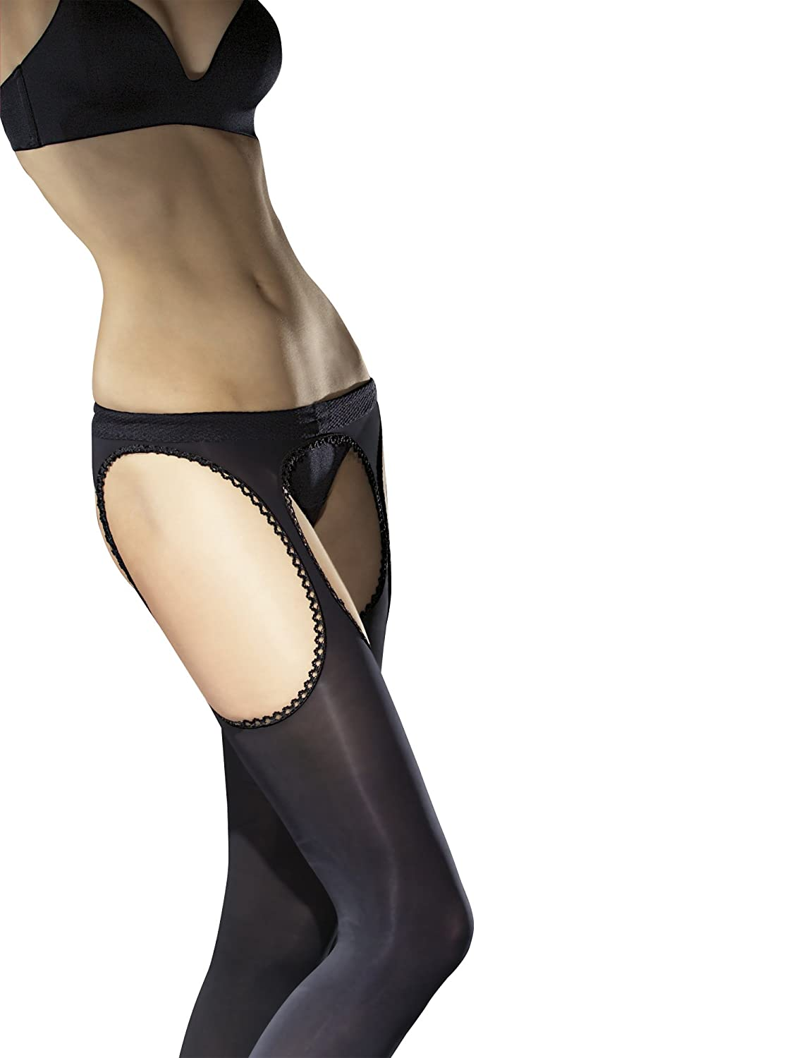 2eead40e937 Fiore Luxury 60 Denier Sheer Suspender Tights - Available in Black ...