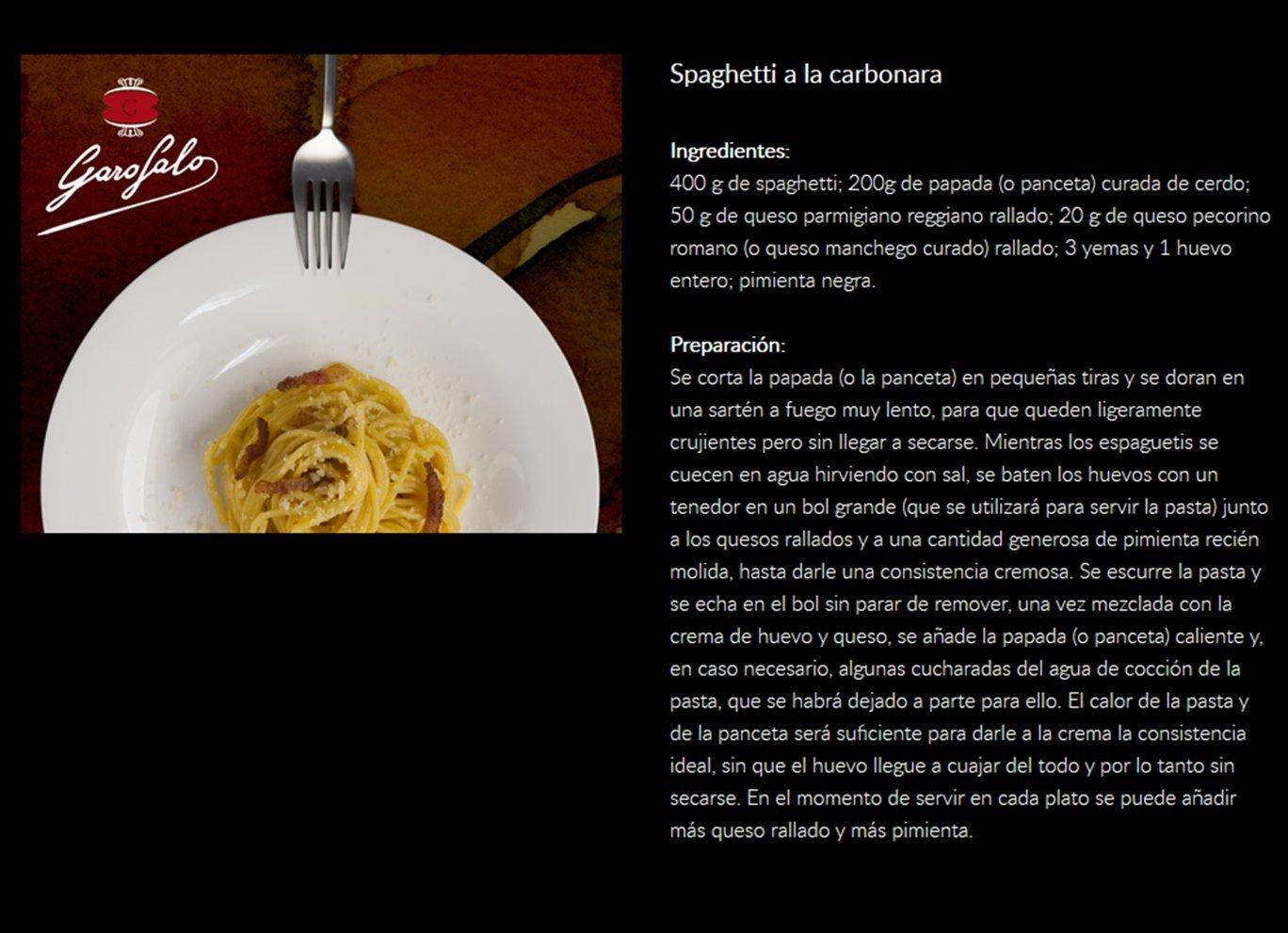 Garofalo Pasta Seca Spaghetti - 500 gr: Amazon.es: Alimentación y bebidas