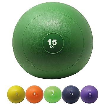 POWRX - Balón medicinal - Slam Ball Balón Medicinal 3 - 20 kg I Slam Ball.  Pasa el ratón por encima de la imagen para ampliarla d49249b60aaee