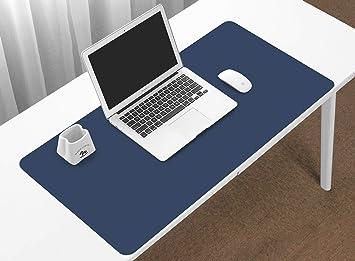 BOONA - Protector de Escritorio, tamaño pequeño, 60 x 30 cm, Piel sintética, para Ordenador, Escritorio, Ordenador, Alfombrilla de ratón, Organizador ...