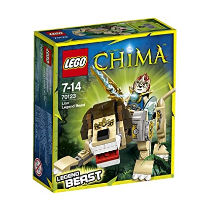Lego Legends of Chima Lion Legend Beast (70123): Toys & Games