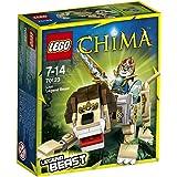 LEGO Legends Of Chima - Les Animaux Légendaires - 70123 - Jeu De Construction - Le Lion Légendaire