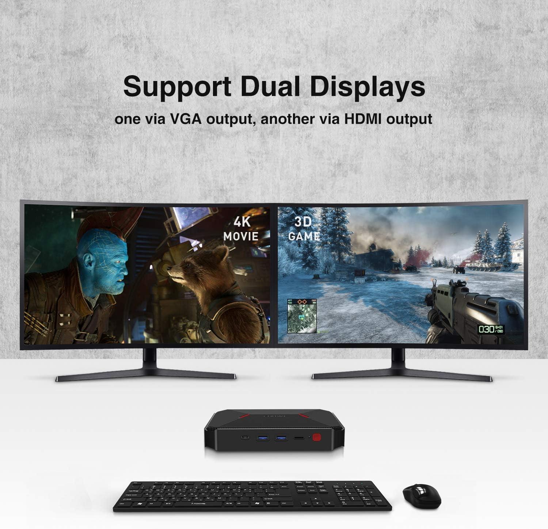 CHUWI GBox Pro Mini PC Intel Atom X7-E3950 Linux y Windows 10 Dual ...