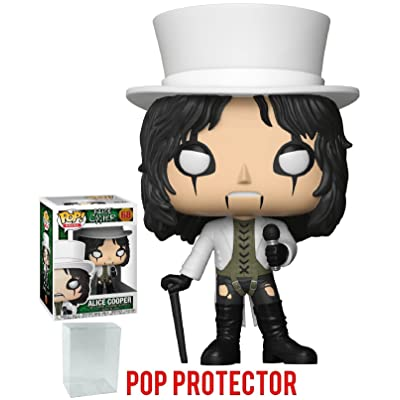 Funko Pop! Rocks: Alice Cooper Vinyl Figure (Includes Pop Box Protector Case): Toys & Games