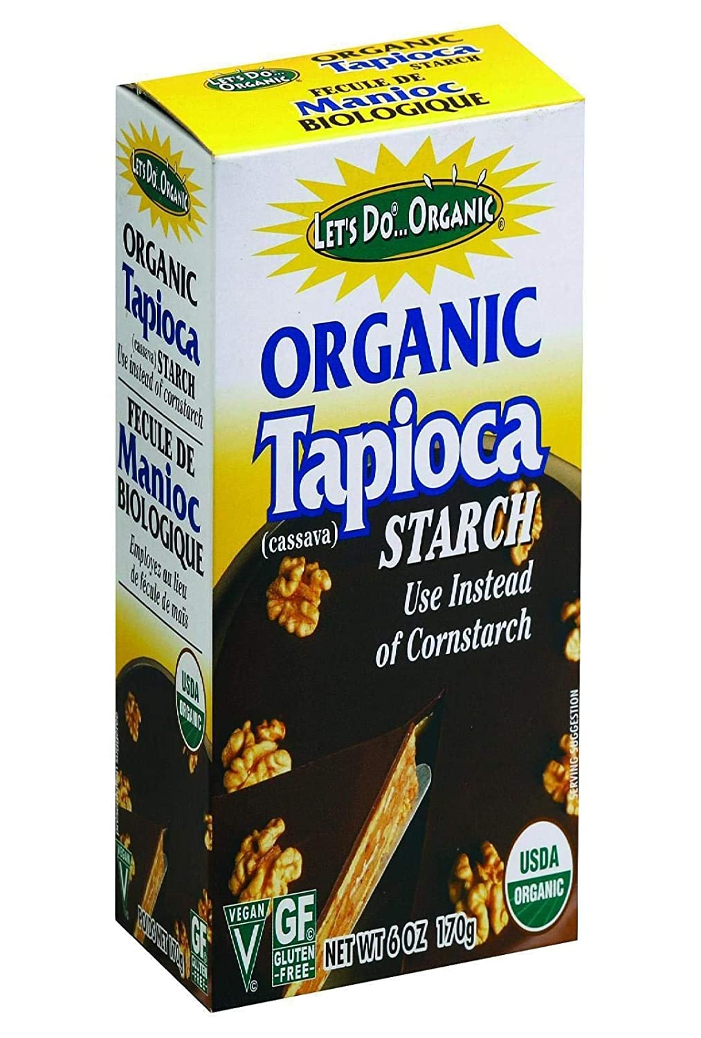 Lets Do, Tapioca Starch Organic, 6 Ounce