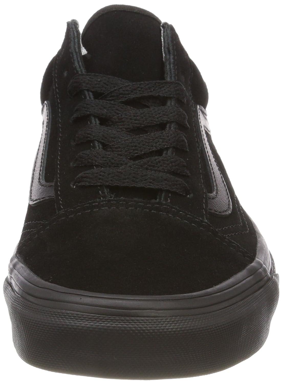 Vans Schwarz Unisex-Erwachsene Old Skool Sneaker Schwarz Vans (Suede) 425ec5