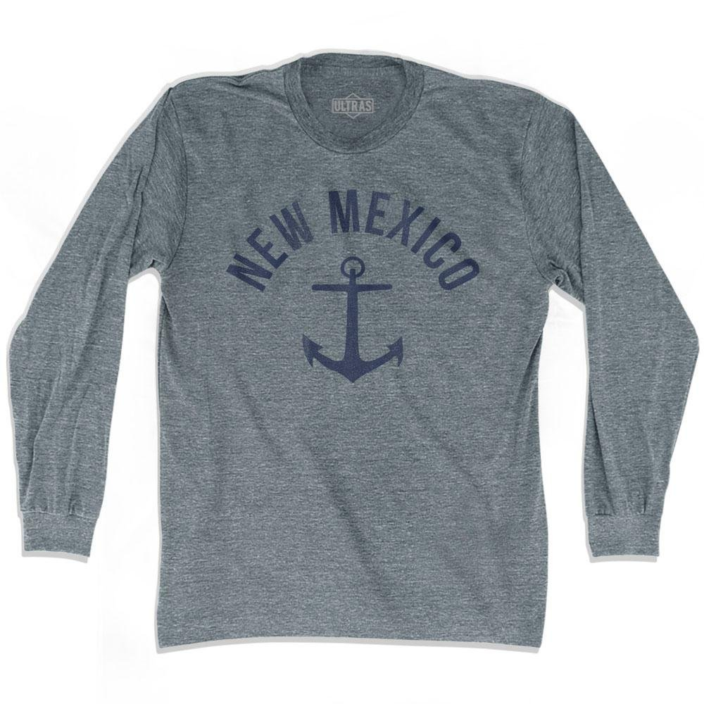 Ultras New Mexico State Anchor Home Tri-Blend Adult Long Sleeve T-Shirt