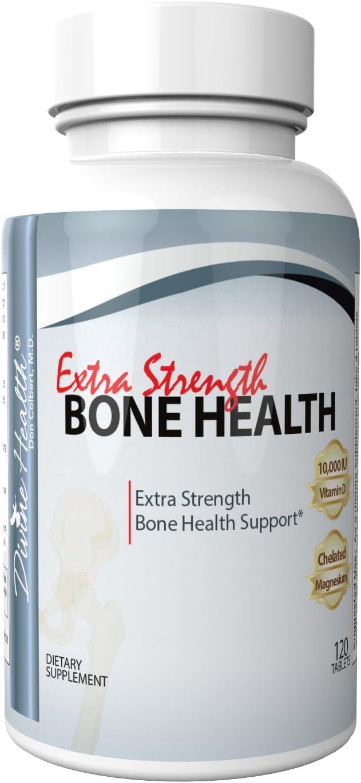 Dr.Cobert Formulated Extra Strength Bone Health - Vitamin D3 10,000iu - Calcium Citrate - Chelated Magnesium