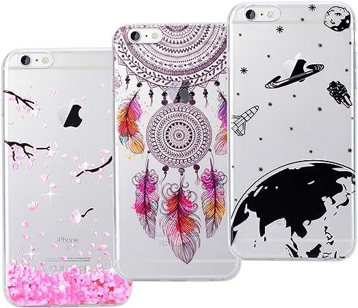 VemMore 3X Cover iPhone 6 Plus/iPhone 6S Plus Silicone Trasparenti ...