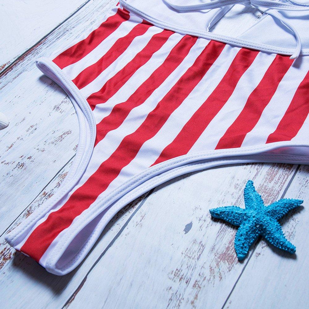 Costume da Bagno Intero da Donna Aiserkly con Bandiera Americana