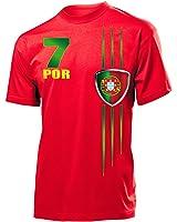 FUSSBALL EM 2016 - PORTUGAL FANSHIRT T-Shirt Herren S-XXL
