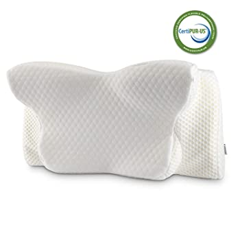 Coisum Orthopedic Memory Foam Cervical Contour Pillow