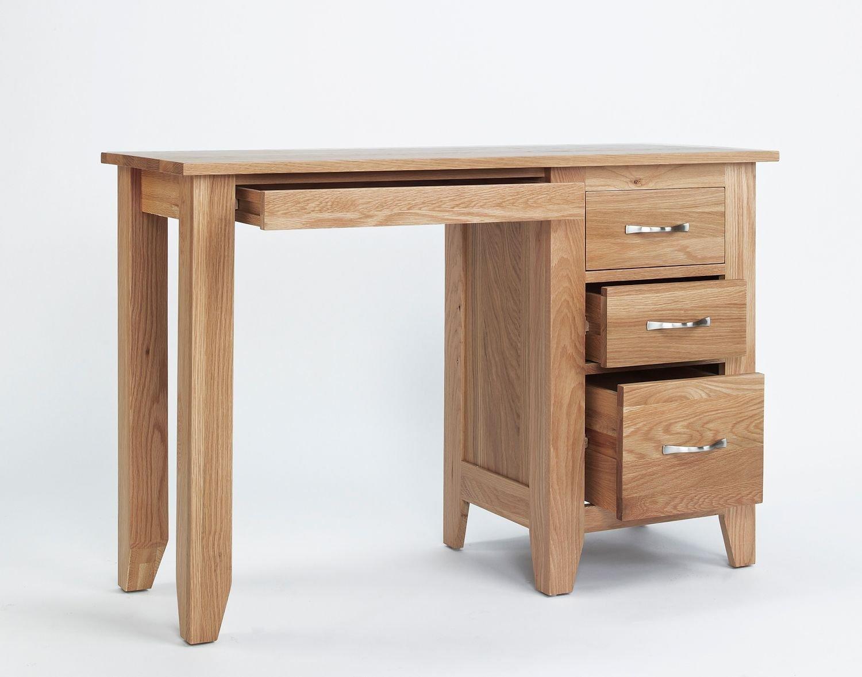 Sherwood roble macizo solo Pedestal tocador/escritorio: Amazon.es ...