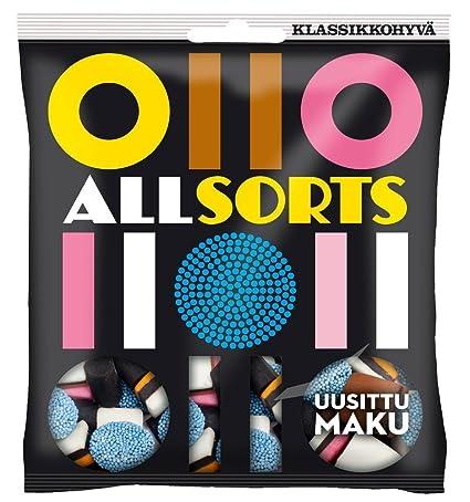 Malaco Allsorts – Original – Sueco – Licorice – Mezcla ...