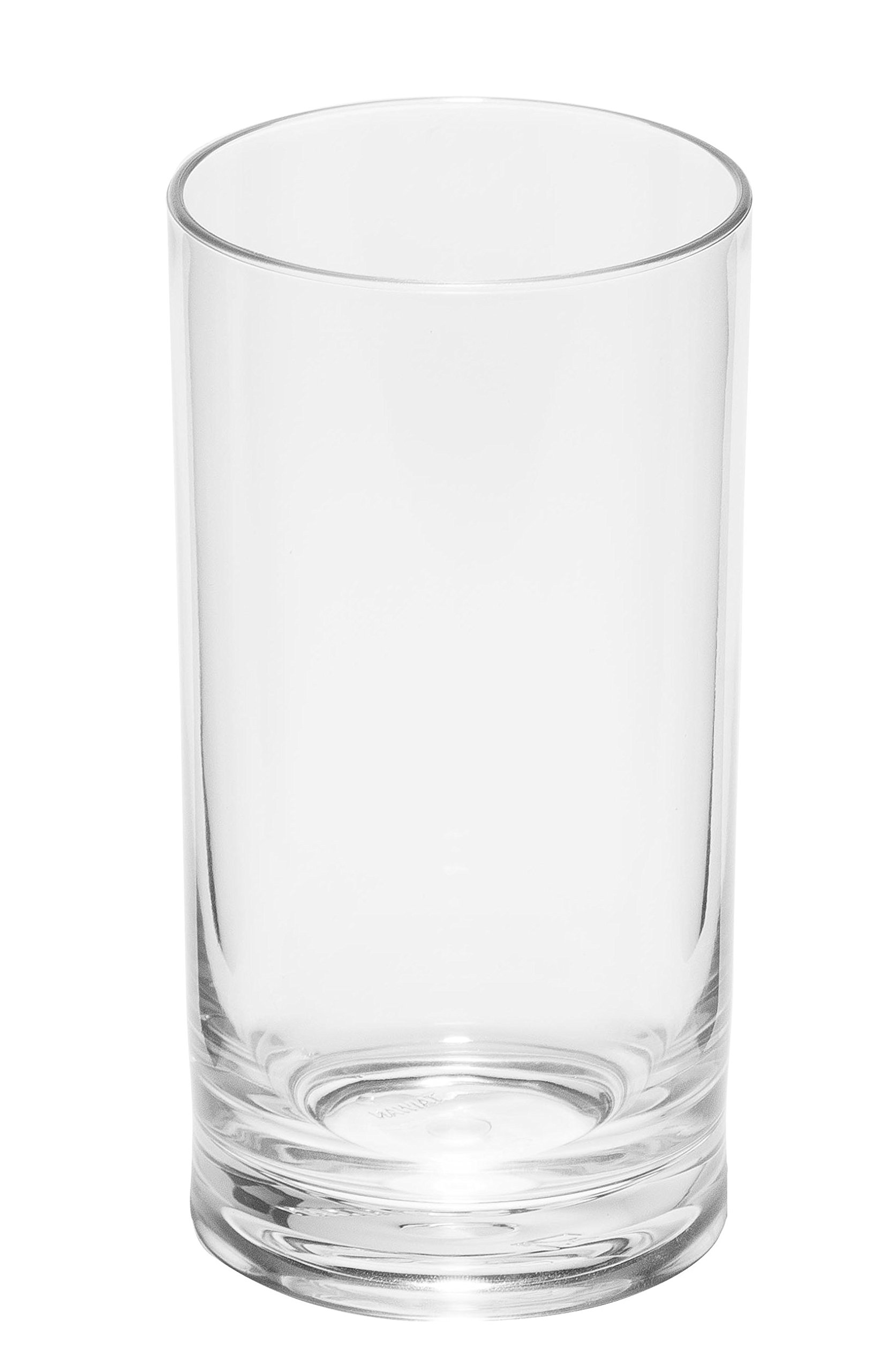 Game Changer Unbreakable Combo Highball/Water Glasses | Style, Strength and Durability | Thickened Tritan Bases | Indoor/Outdoor Multi-purpose Plastic Glasses | 17 Ounce Set of 4 by Top Shelf Barware (Image #2)