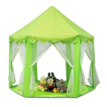 Castillo de la princesa juego presente tiendas de campaña Navidad: Amazon.es: Juguetes y juegos